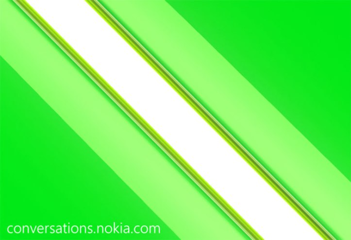 nokia-green-stripe