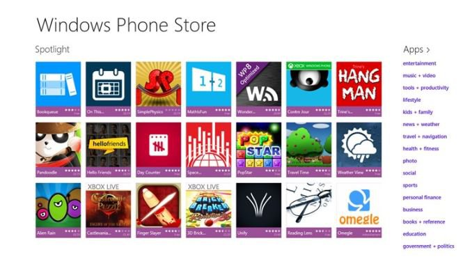 Windows-Phone-Store-app